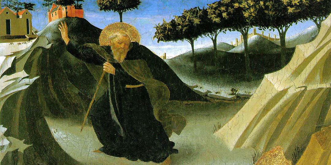 Saint Anthony's later life