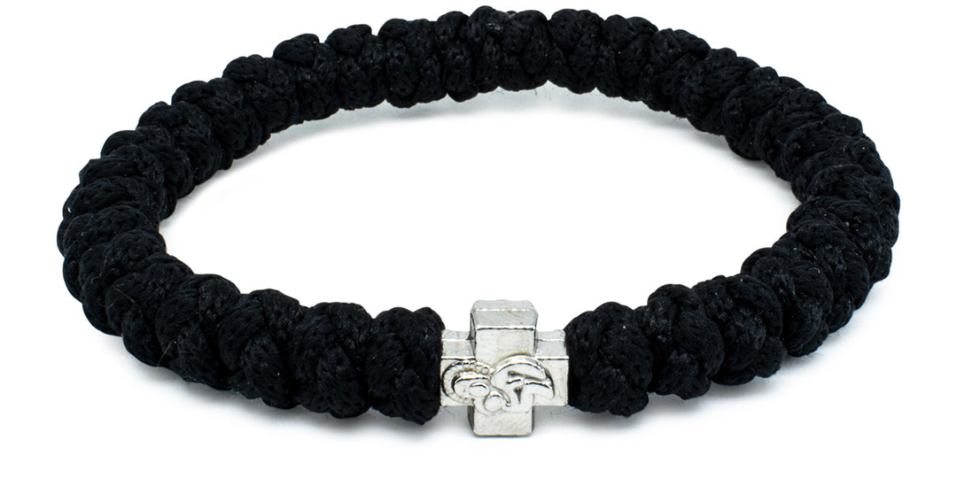 The Black Prayer Bracelet