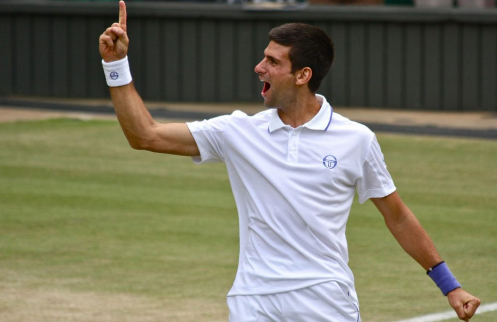 Novak Djokovic and a Prayer Rope bracelet?