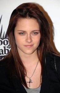 Kristen Stewart cross necklace