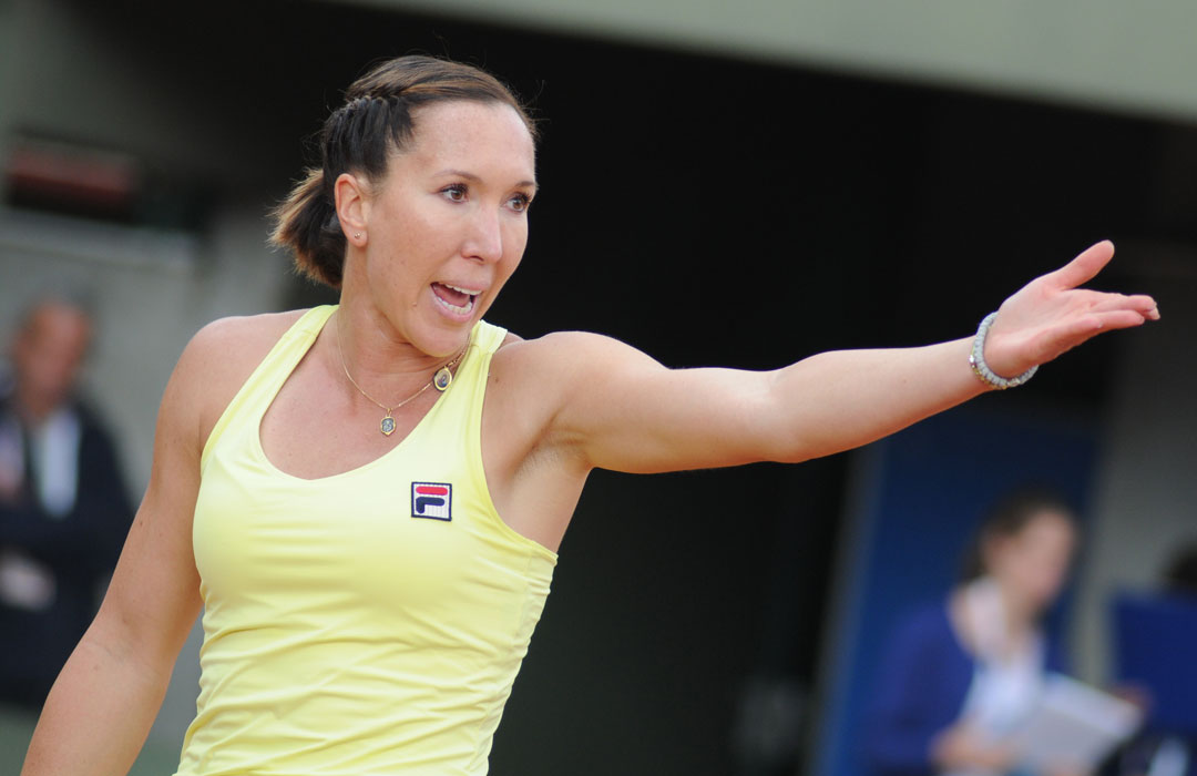 Jelena Jankovic Wears a Komboskini