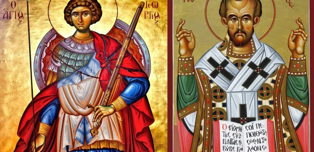 Who Were Saint George and John Chrysostom
