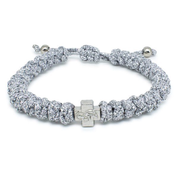 Adjustable Silver Prayer Bracelet-0
