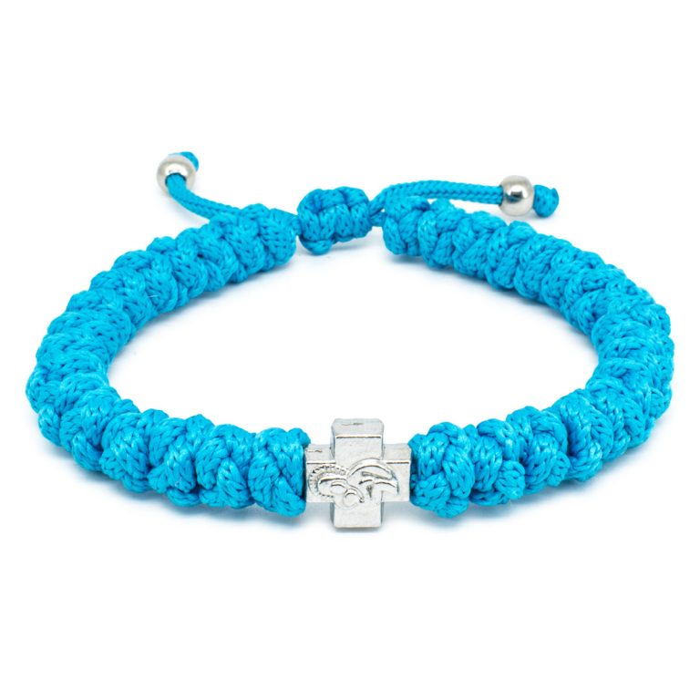 Adjustable Turquoise Prayer Bracelet-0