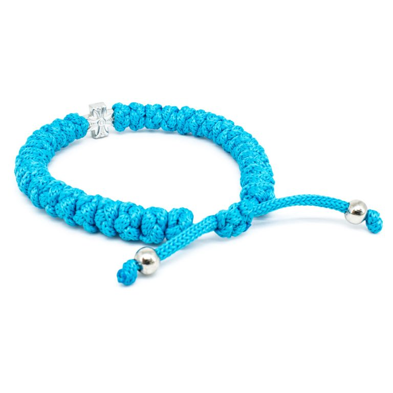 The adjustable turquoise prayer bracelet