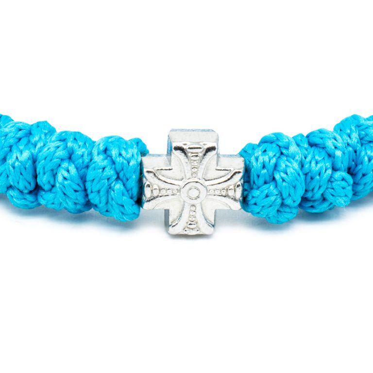 Adjustable Turquoise Prayer Bracelet-674