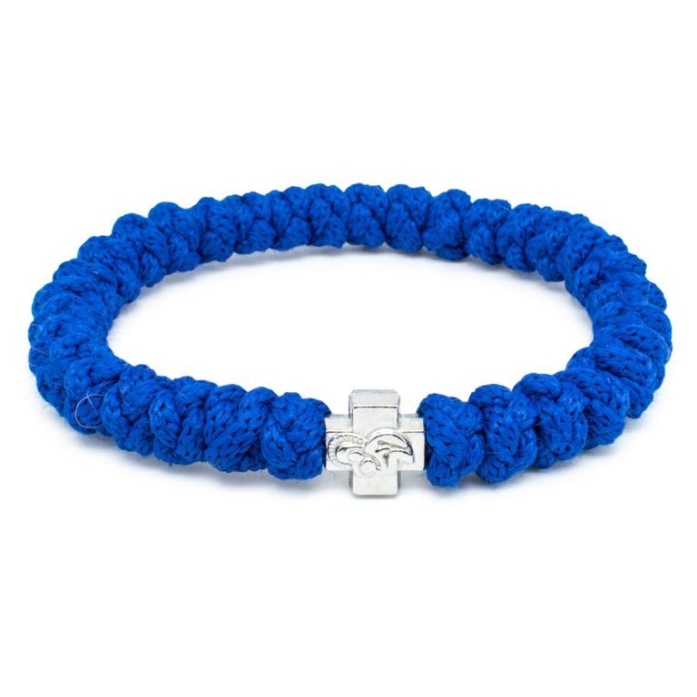 Blue Prayer Bracelet-0