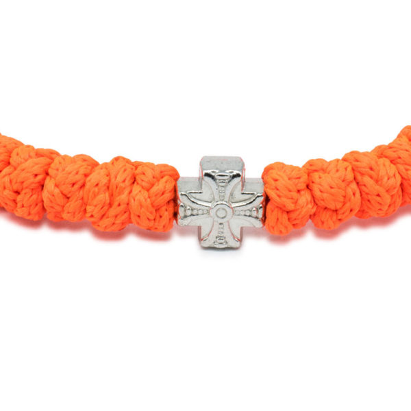 Neon Orange Prayer Bracelet