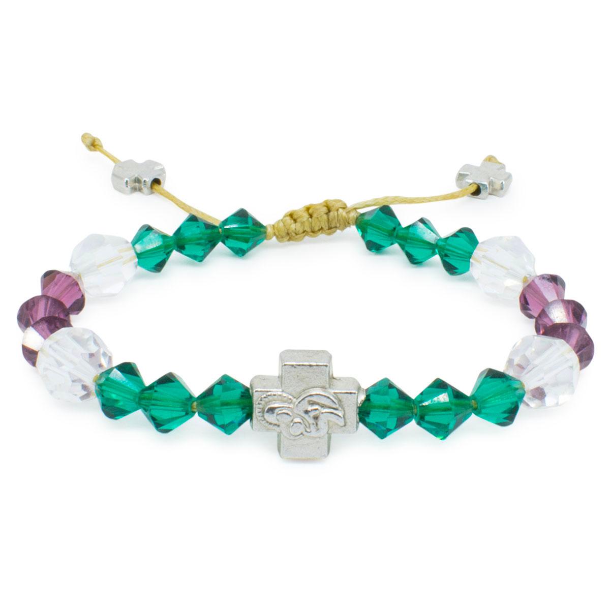 79005b91c75 Exquisite And Original Swarovski Crystal Prayer Bracelet