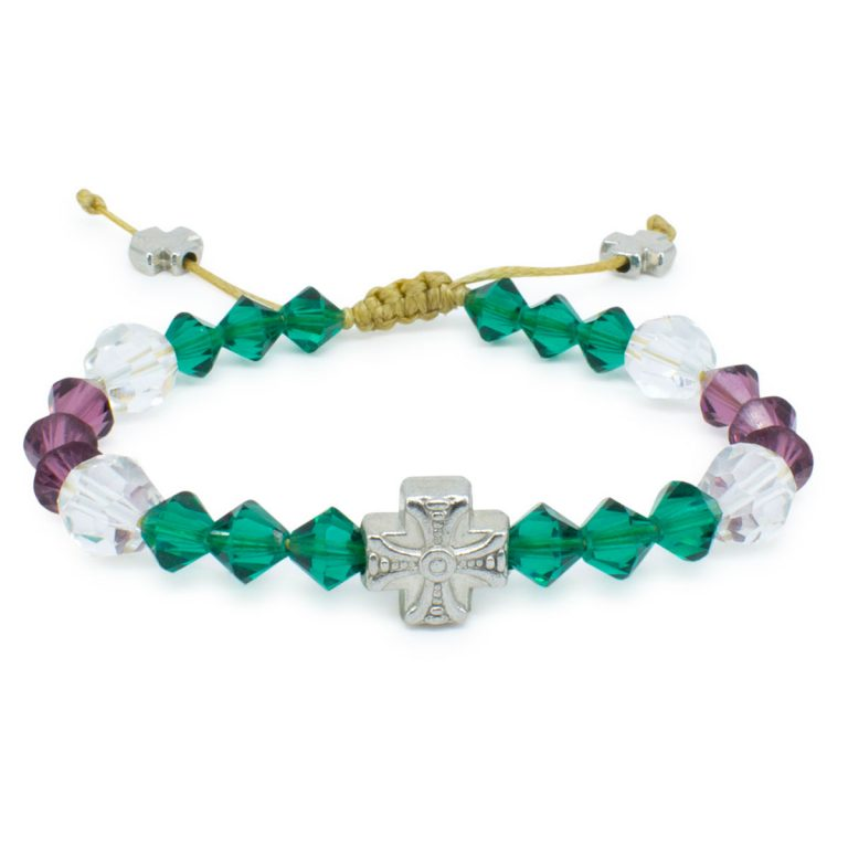 "Original Swarovski Crystal Prayer Bracelet ""Anna"""