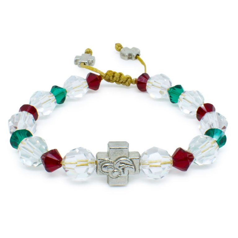 "Swarovski Crystal Prayer Bracelet ""Jane""-0"