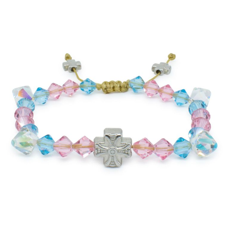 Delightful Swarovski Crystal Prayer Bracelet Lara