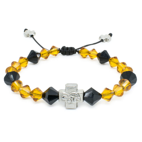 "Swarovski Crystal Prayer Bracelet ""Lora""-0"