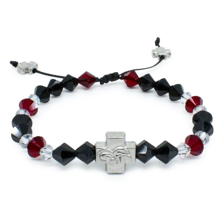 "Swarovski Crystal Prayer Bracelet ""Stendal""-0"