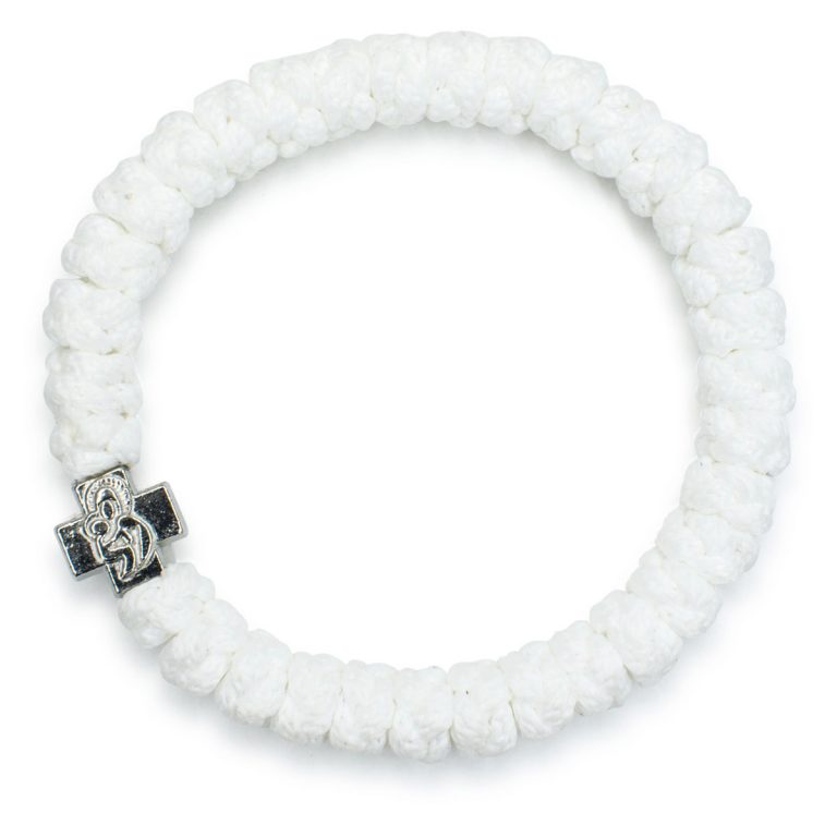 White Prayer Bracelet-102